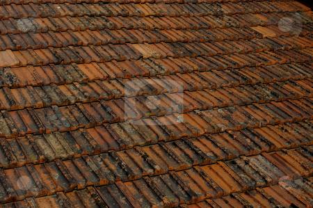 Tiles stock photo, Roof detail by Rui Vale de Sousa