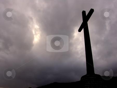 Cross stock photo, Cross silhouette by Rui Vale de Sousa