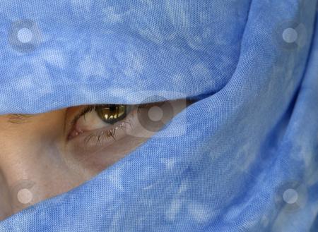 Iris stock photo, Woman eye by Rui Vale de Sousa