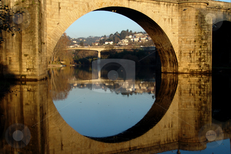 Bridge stock photo, Ancient portuguese bridge by Rui Vale de Sousa