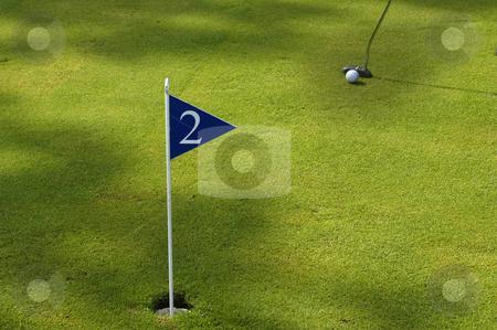 Golf stock photo, Golf field detail by Rui Vale de Sousa
