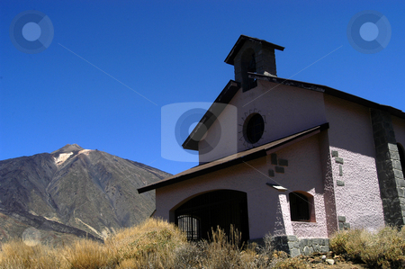Chapel stock photo, Chapel in the mountains by Rui Vale de Sousa