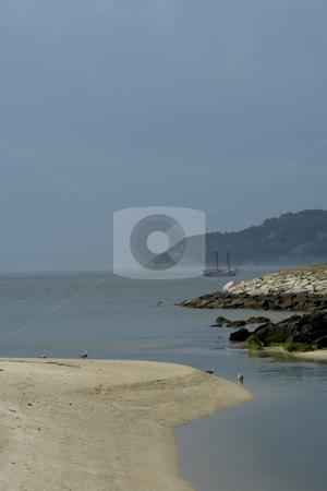 Boat stock photo, Boat at the sea by Rui Vale de Sousa
