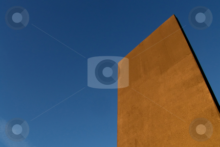 Modern stock photo, Architecture detail and the sky as background by Rui Vale de Sousa