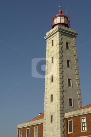 Lighthouse stock photo, Ancient portuguese lighthouse by Rui Vale de Sousa