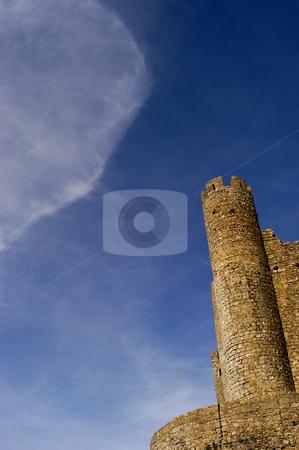 Castle stock photo, Cloud over the castle by Rui Vale de Sousa