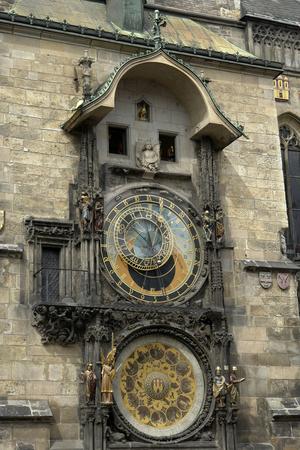 Clock stock photo, Famous prague clock by Rui Vale de Sousa