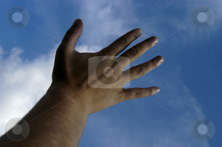 Hand stock photo, Open hand by Rui Vale de Sousa