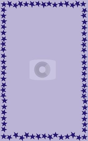 Frame stock photo, Illustration frame stars by Rui Vale de Sousa
