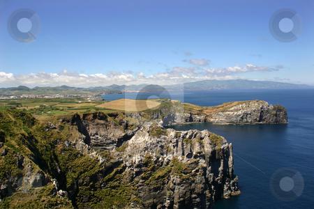 Cliff stock photo, Azores coast by Rui Vale de Sousa