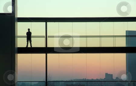 Man stock photo, Man in a building by Rui Vale de Sousa