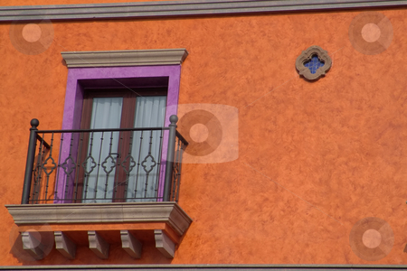 Orange stock photo, Orange house detail by Rui Vale de Sousa