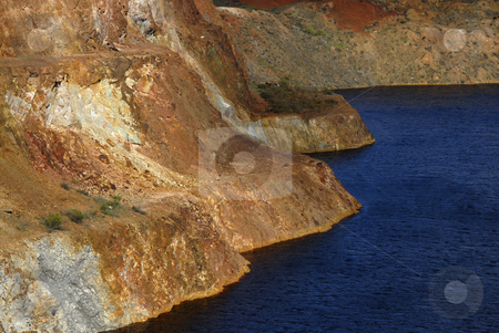 Old mine stock photo, Old mine hole in alentejo, the south of portugal by Rui Vale de Sousa