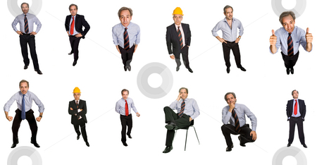 People stock photo, Mature man in studio, individual images available at higher resolution by Rui Vale de Sousa