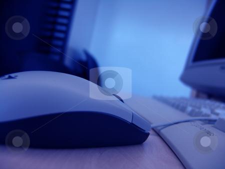 Mouse stock photo, Computer room by Rui Vale de Sousa