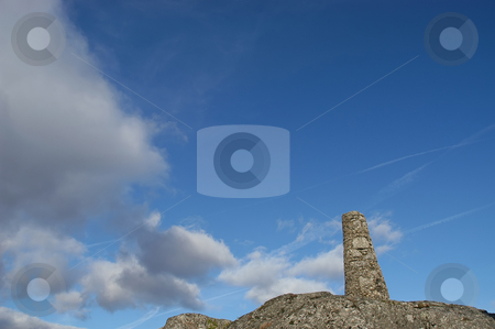 Rock stock photo, Rock on the top of the mountain by Rui Vale de Sousa