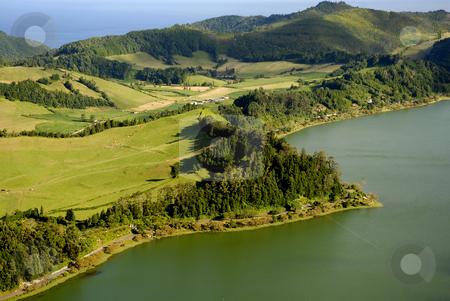 Azores stock photo, Azores seven lake in s miguel island by Rui Vale de Sousa