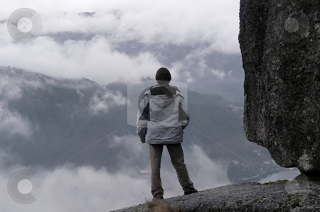 Top stock photo, Man in the top of the mountains by Rui Vale de Sousa