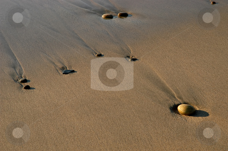 Rocks stock photo, Rocks on the sand by Rui Vale de Sousa