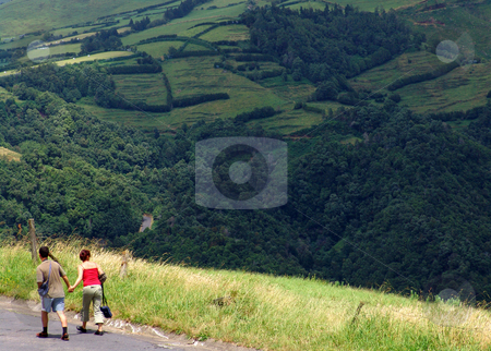 Couple stock photo, Couple in the hills by Rui Vale de Sousa