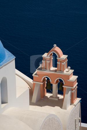 Church stock photo, Small church in the greek island of santorini by Rui Vale de Sousa