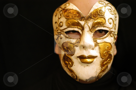 Mask stock photo, Male mask by Rui Vale de Sousa