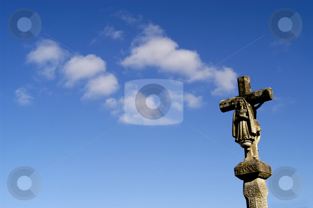 Cross stock photo, Ancient cross in the north of portugal by Rui Vale de Sousa