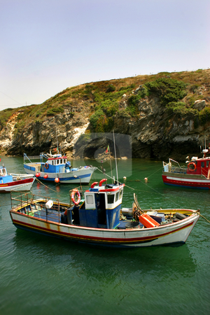 Boats stock photo, Boats at the port by Rui Vale de Sousa