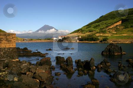Porto Pim stock photo, Azores view of Porto Pim in Faial Island by Rui Vale de Sousa
