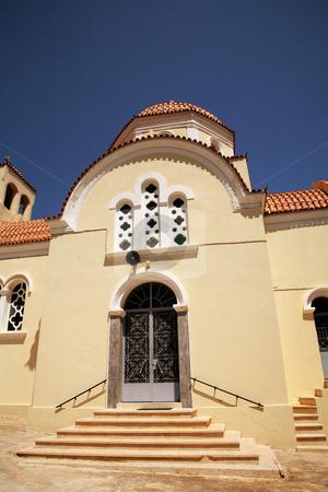 Church stock photo, Church of sitia in greek island of crete by Rui Vale de Sousa