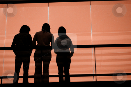 Group stock photo, People on the building by Rui Vale de Sousa