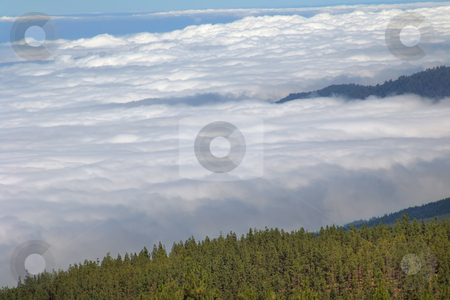 Clouds stock photo, Mountain clouds by Rui Vale de Sousa