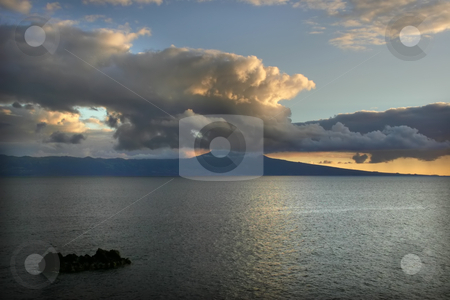 Oceans stock photo, Sunset ina zores by Rui Vale de Sousa