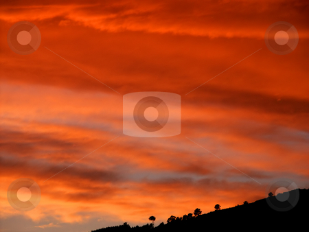 Sunset stock photo, Sunset at the mountains by Rui Vale de Sousa