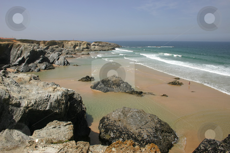 Beach stock photo, Portuguese beach by Rui Vale de Sousa