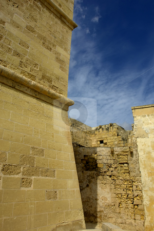 Ancient stock photo, Ancient architecture of malta, in gozo island by Rui Vale de Sousa