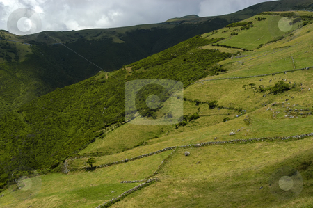 Hills stock photo, Azores hills by Rui Vale de Sousa