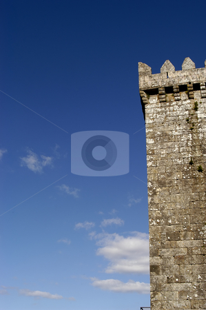 Castle stock photo, Portuguese castle detail by Rui Vale de Sousa