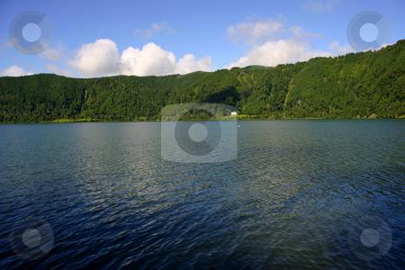 Lake stock photo, Azores lake by Rui Vale de Sousa