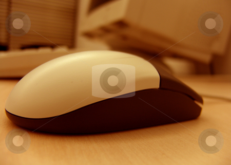 Mouse stock photo, Computer mouse by Rui Vale de Sousa