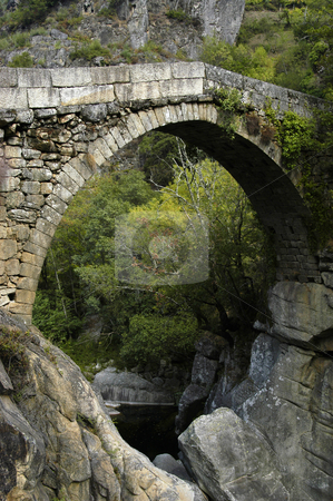 Bridge stock photo, Ancient bridge by Rui Vale de Sousa