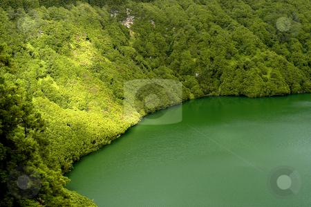 Azores lake stock photo, Azores lake of sao goncalo in sao miguel island by Rui Vale de Sousa
