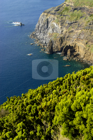 Azores stock photo, Azores coastal view at s miguel island by Rui Vale de Sousa