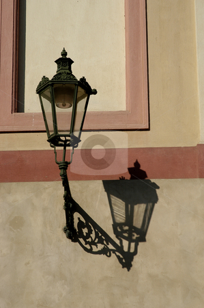 Candle stock photo, Candle in prague building by Rui Vale de Sousa