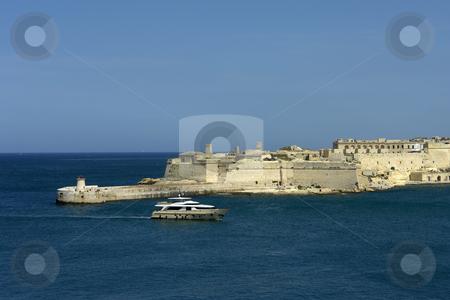 Port stock photo, Valetta harbor view, Capital of Malta island by Rui Vale de Sousa