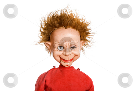 Scary stock photo, Old scary male doll in a studio picture by Rui Vale de Sousa