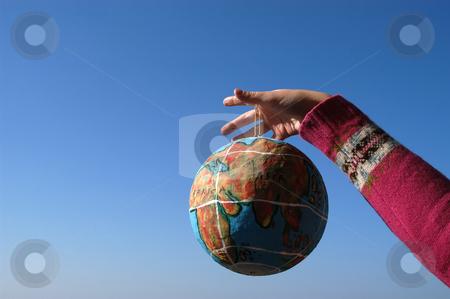Globe stock photo, Globe in the hand by Rui Vale de Sousa