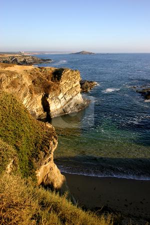 Coast stock photo, Ocean and land by Rui Vale de Sousa