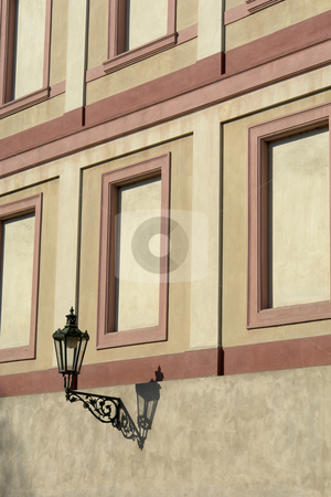 Candle stock photo, Architecture candle detail in a prague building by Rui Vale de Sousa
