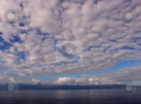 Island stock photo, Azores island and the cloudy sky by Rui Vale de Sousa